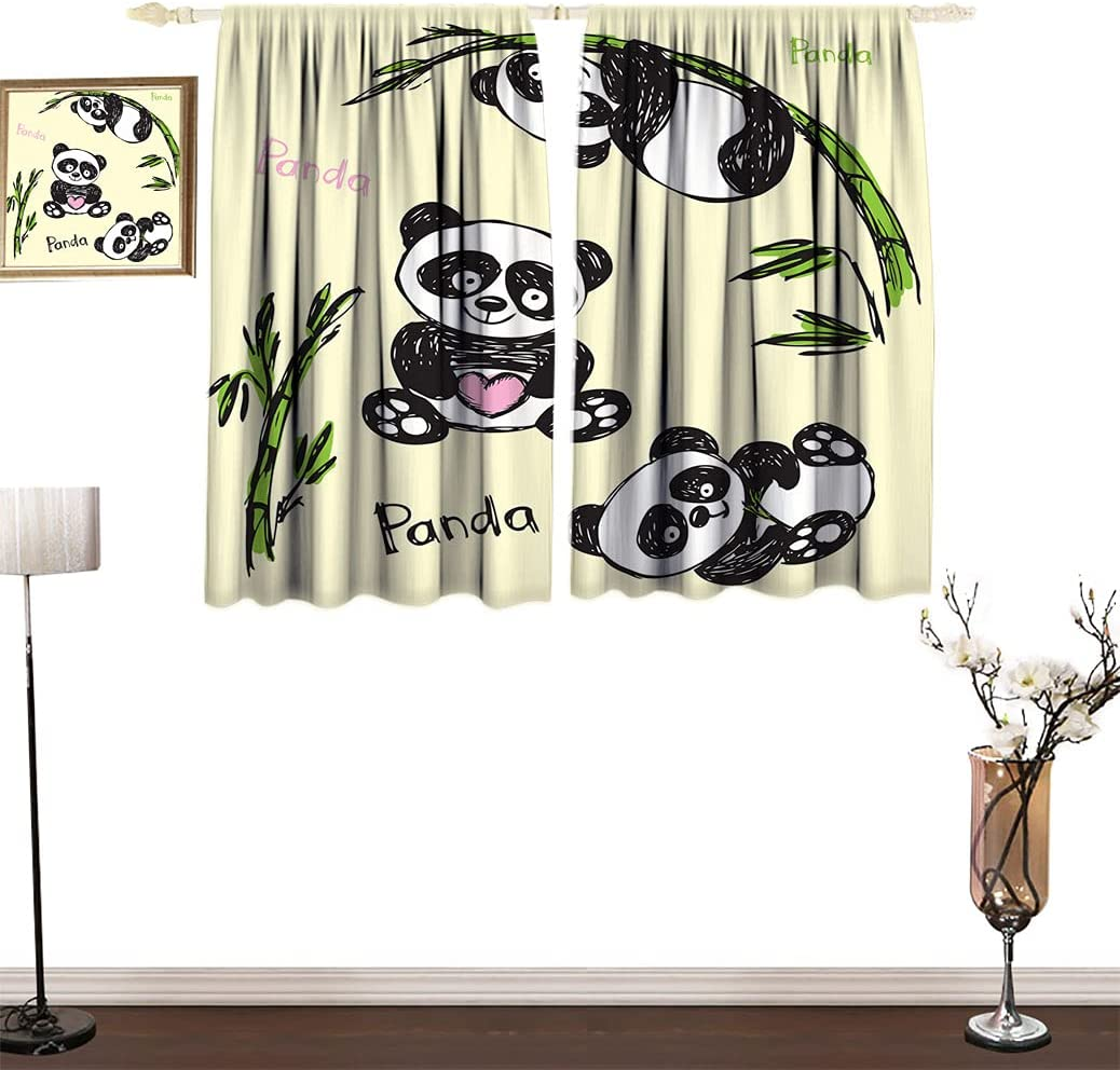 Arrow New life Room Over item handling ☆ Darking Curtain Cheerful Poses Different Panda with