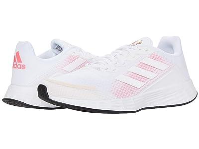 adidas Running Duramo SL (Footwear White/Footwear White/Signal Pink) Women