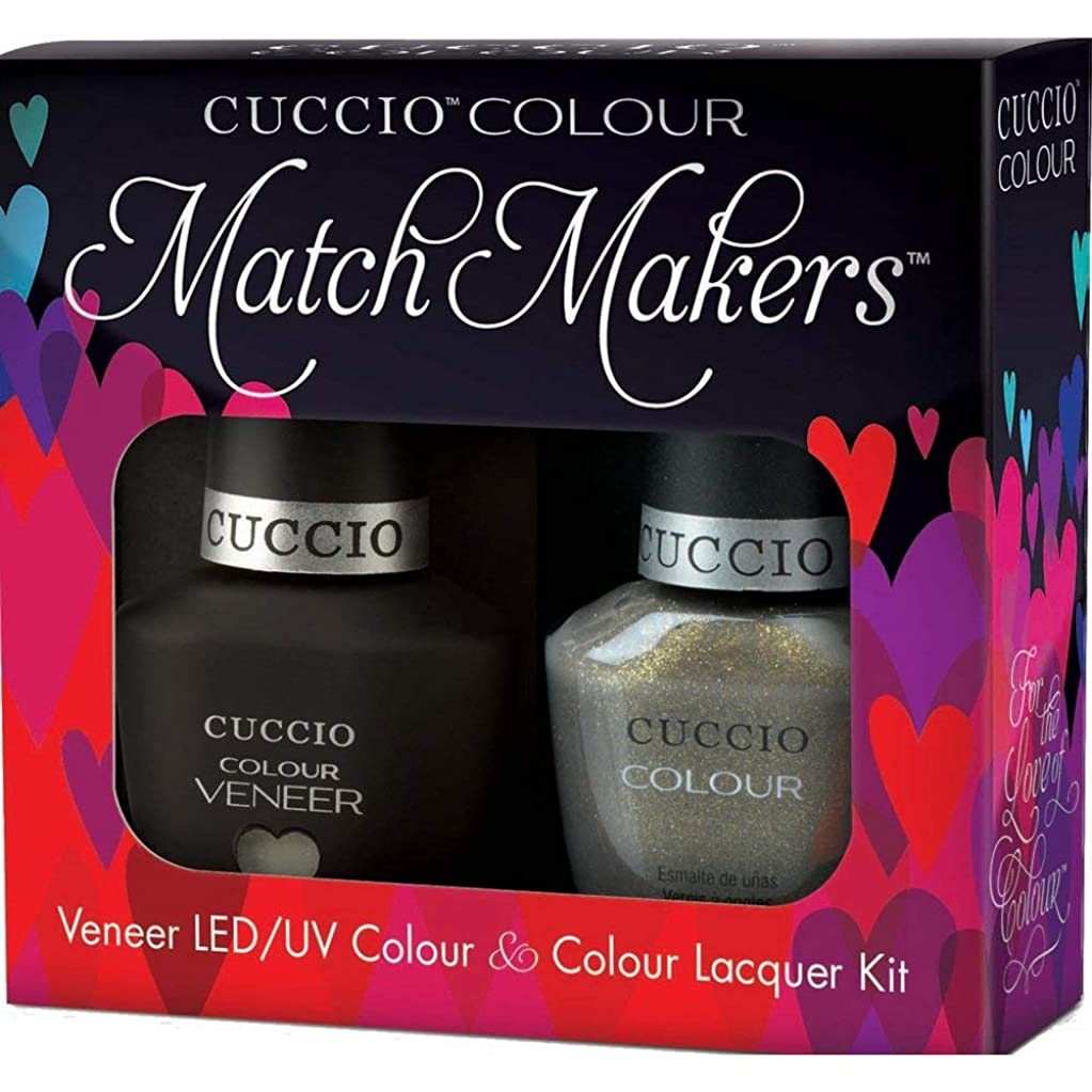 ジェスチャー冷酷なしたいCuccio MatchMakers Veneer & Lacquer - Olive You - 0.43oz / 13ml Each