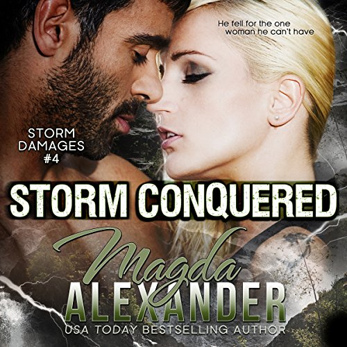 Storm Conquered audiobook cover art