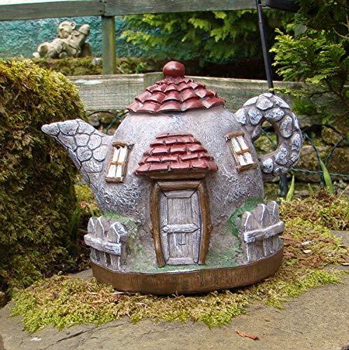 Pixieland Secret Fairy Garden - Tetera para jardín