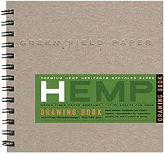 "product image for Hemp Drawing Book, Medium 7"" x 7"""