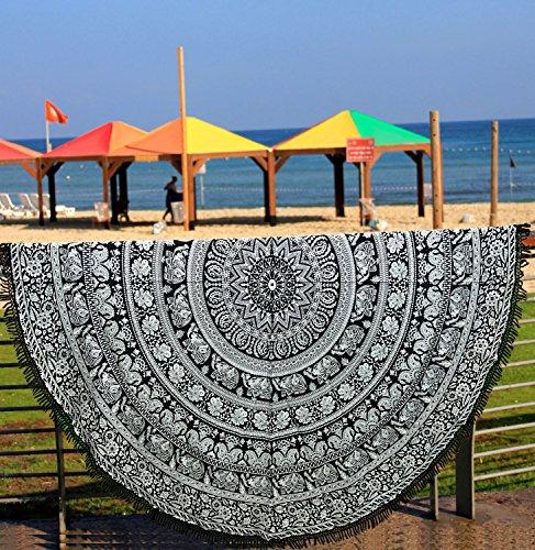 handicraftofpincity indischen blau Mandala Tapisserie Dekorative Hippie Wandt...…