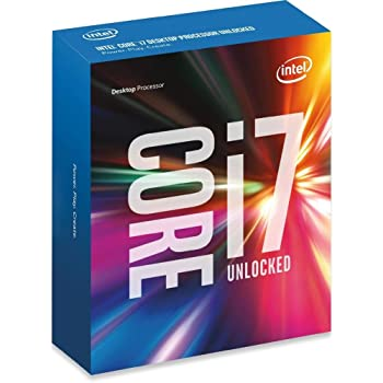 Intel Boxed Core i7-6850K Processor (15M Cache, up to 3.80 GHz) FC-LGA14A 3.6 6 BX80671I76850K