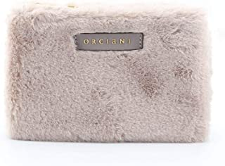 Orciani Women's SD0135ECOFURGREY Grey Polyester Clutch