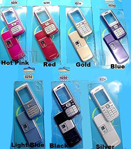 Nokia 6234 Handy Ersatz Gehäuse Fascia OEM Abdeckung für Vorder und Rückseite (Red/Rot)