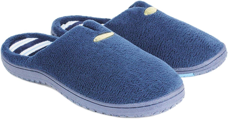Starfarm Women's Memory Foam Slippers Warm Plush House shoes for Indoor Anti-Slip Sole