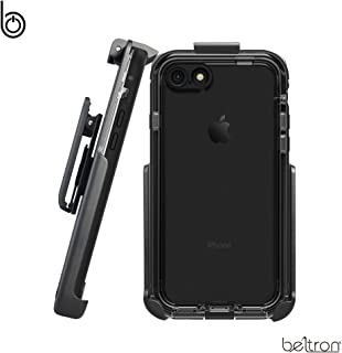 Belt Clip Holster for The LifeProof NUUD Series - iPhone 7 / iPhone 8 (case not Included) - Features: Secure Fit, Quick Release Latch, Durable Rotating Belt Clip & Built-in Kickstand