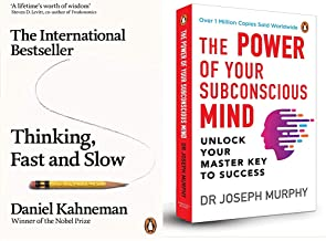 Thinking, Fast & Slow + The Power of Your Subconscious Mind (Premium Paperback)