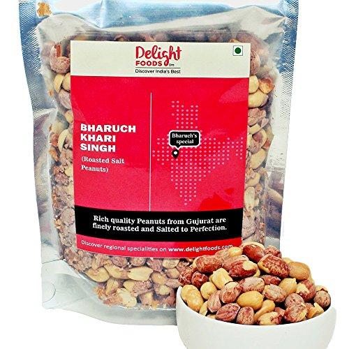 Delight Foods Bharuch Khari Sing (Roasted Salt Peanuts) 200g