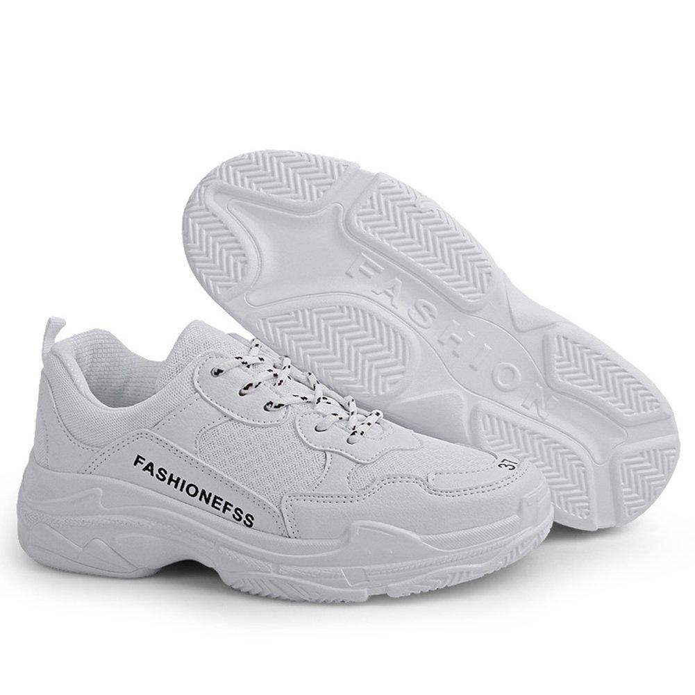 CAI Zapatillas Deportivas de Malla de Hombre/Mujer 2018 Zapatos Deportivos de Gran tamaño de Nueva Marca Hombres/Mujeres Zapatos de Viaje Casual Zapatos de Correr de los Amantes: Amazon.es: Jardín