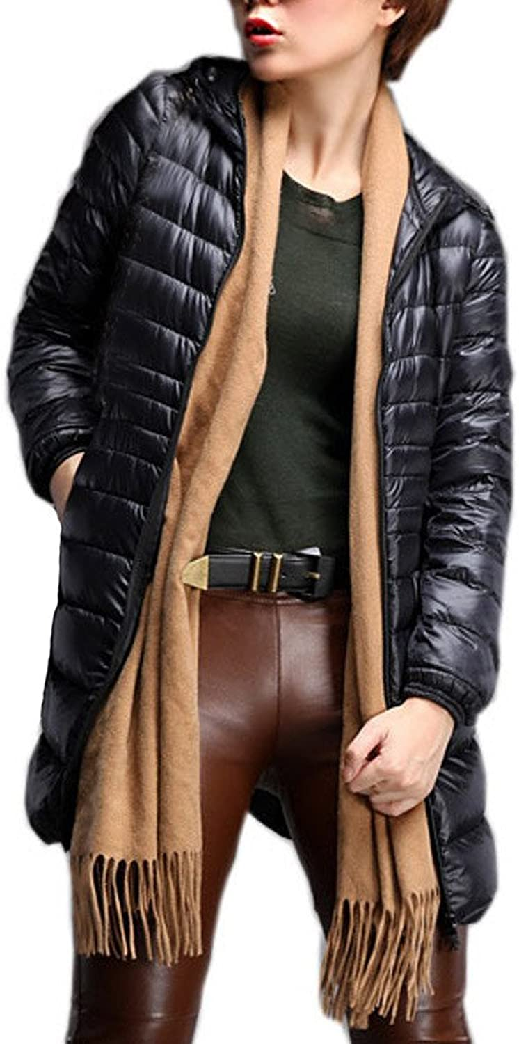 Laimeng_World Fashion Womens Quilted Lightweight Jackets Winter Plus Size Warm Thin Down Jacket Outwear Overcoat