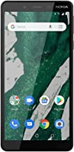 """Nokia 1 Plus - Android 9.0 Pie (Go Edition) - 16 GB - LTE Unlocked Smartphone (at&T/T-Mobile/Cricket/H2O) - 5.5"""" Screen - ..."""