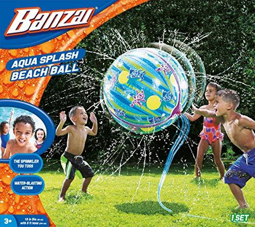 Banzai 12918 Splash Beach Ball, Multicolor