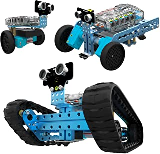 Makeblock Programmable mBot Ranger Robot Kit, STEM Educational Engineering Design & Build 3 in 1 Programmable Robotic System Kit - Ages 10+