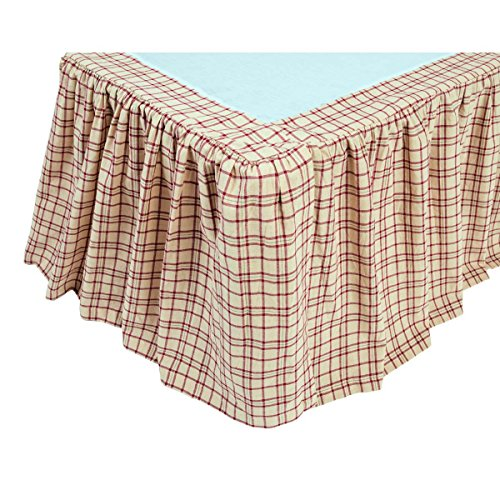 VHC Brands 10679 Tacoma Queen Bed Skirt 60x80x16