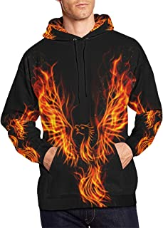 Abstract All Over Print Hoodies Pullover Hoodie Sweatshirt for Men Adults