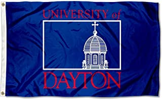 College Flags and Banners Co. University of Dayton Wordmark Logo Flag