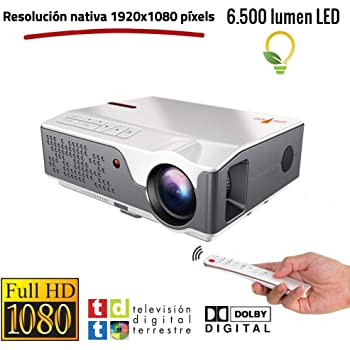 Proyector Full HD Nativo 1080P con TDT, Unicview FHD950 (1920x1080 ...
