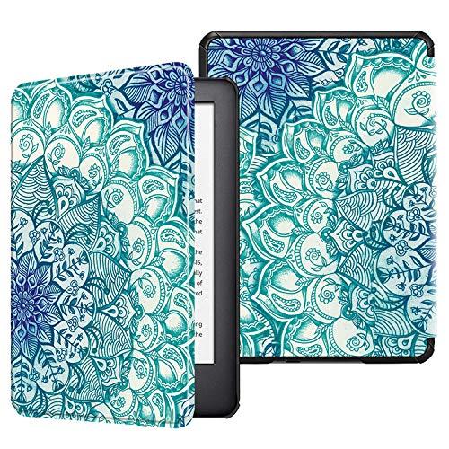 Fintie Hülle kompatibel für Kindle (10. Generation 2019 Modell) - Die dünnste und leichteste Schutzhülle Tasche mit Auto Sleep/Wake Funktion, smaragdblau