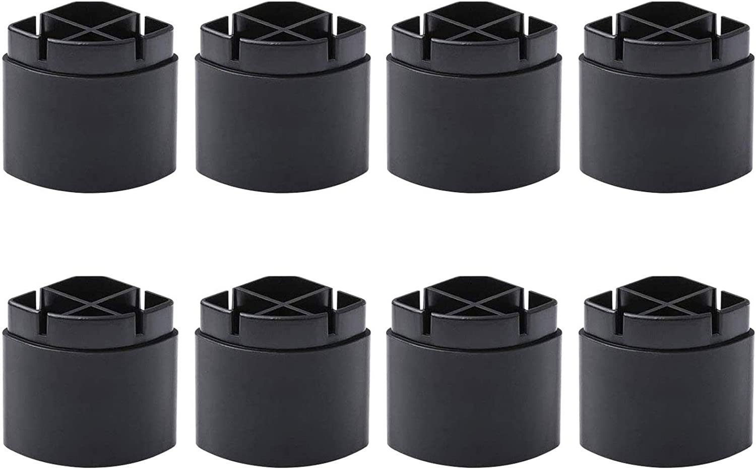 Adjustable Monitor Stand Legs ONLY FITS HUANUO Monitor Stand Models HNLL1 HNLLK1 HNLL1K4 (8 Pack Legs)