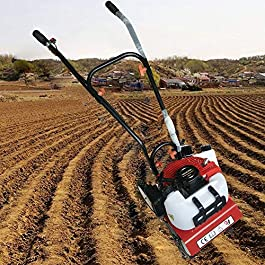 52cc Mini Motoculteur Motobineuse Essence Cultivateur thermique de jardin 1.6kw