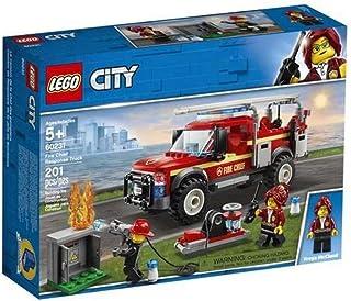 شاحنة اطفاء تشيف ريسبونس من ليغو، متعددة الالوان، 60231