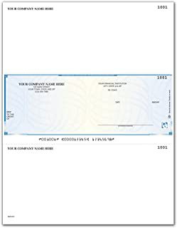 CheckSimple Laser Business Checks, High Security - MAS, Businessworks and Others (100 Qty) - Custom