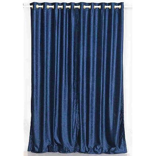 Blue Velvet Curtains: Amazon.co.uk
