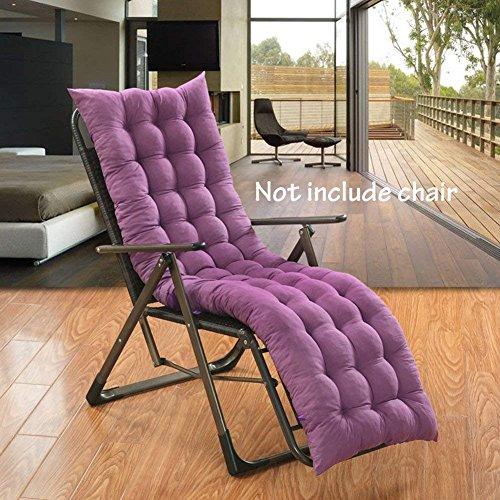 Coussin de chaise à dossier haut, Fauteuil inclinable/fauteuil inclinable Coussin douce chaleur respirant absorbant pour maison, bureau, chaise, voiture et en extérieur(Pas de chaise incluse)