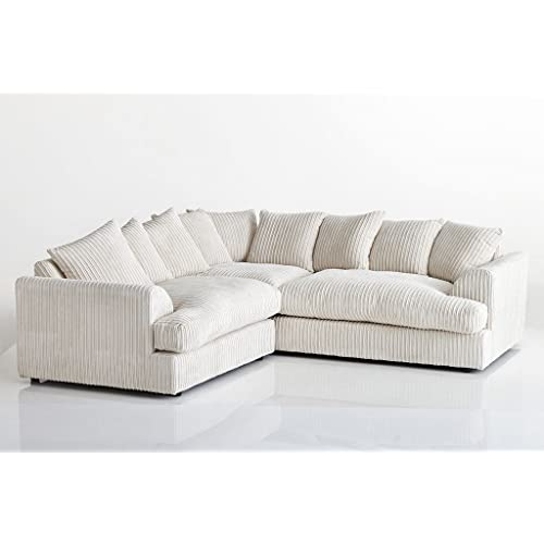 Cream Corner Sofa Amazon Co Uk