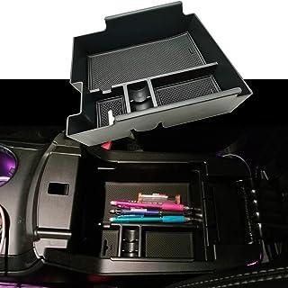 EVTIME Center Console Organizer Interior Storage Box for 2019 2018 2017 2016 2015 2014 2013 2012 Ford Explorer Accessories Armrest Secondary Storage Tray