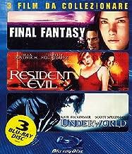 underworld / resident evil / final fantasy (3 blu-ray) (2001, 2002, 2003 ) (blu-ray ) box set Blu-ray Italian Import