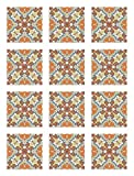 Panorama Azulejos Adhesivos Cocina Baño Pack de 48...