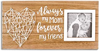 VILIGHT Mom Picture Frame Gifts for Mother's Day and Birthday from Daughter and Son - Always My Mom Forever My Friend for 3 Inches Photo