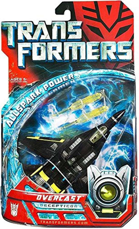 Transformers Movie Overcast Action Figure  Deluxe Class Decepticon Jet