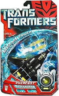 Transformers Movie Overcast Figure - Deluxe Class Decepticon Jet