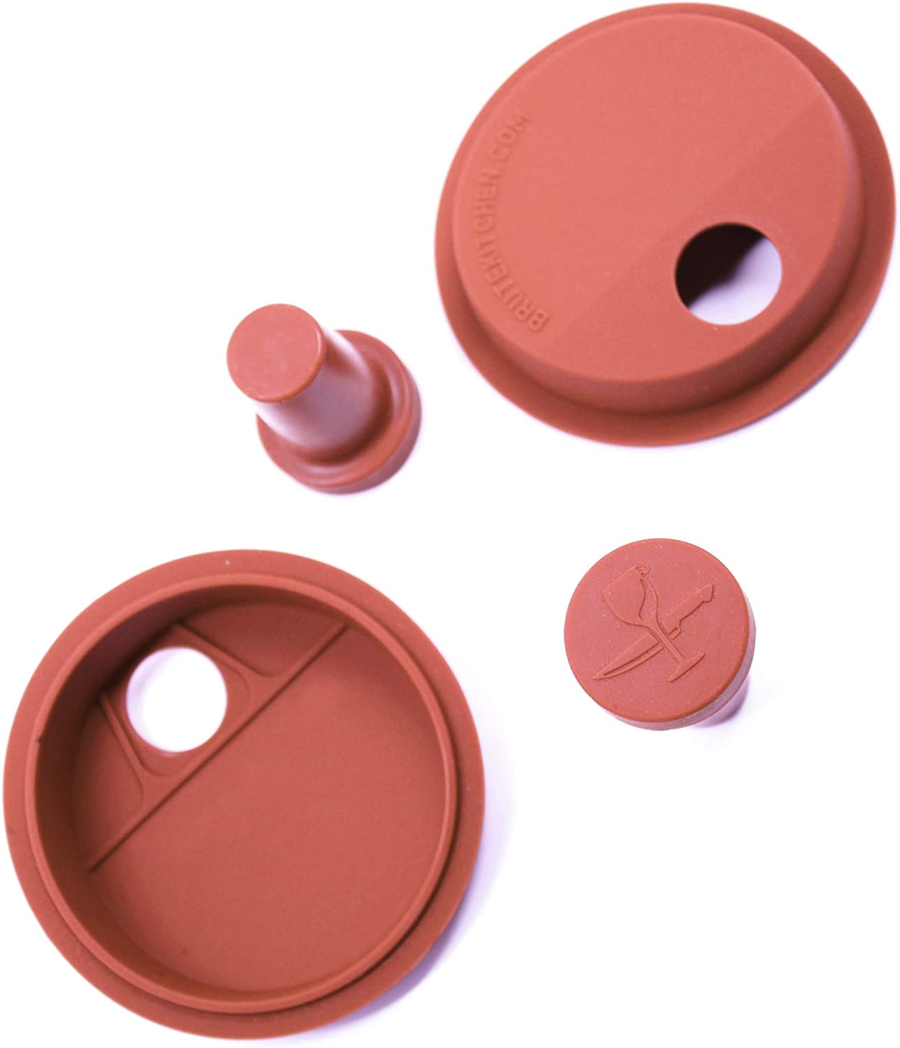 Wide-Mouth Mason Jar Silicone Corks Brand Cheap Super Special SALE held Sale Venue Lids 2 and