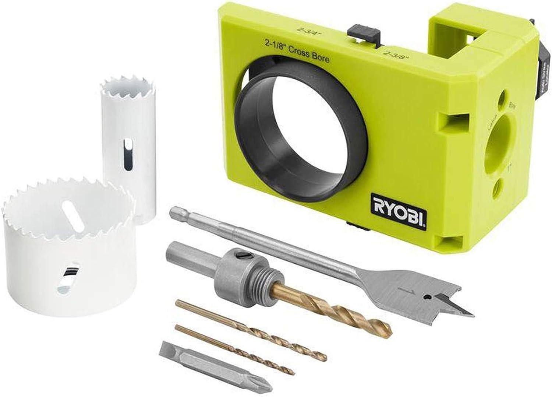 Ryobi A99DLK4 - Overall Best Door Lock Installation Kit