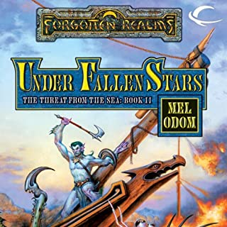 Under Fallen Stars audiobook cover art