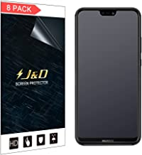 J&D Compatible for 8-Pack P20 Lite Screen Protector, [Anti-Glare] [Not Full Coverage] Matte Film Shield Screen Protector for Huawei P20 Lite Matte Screen Protector - [Not for Huawei P20/P20 Pro]