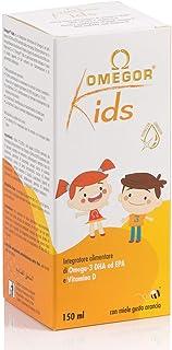 Omegor Kids con omega-3 DHA vegetal y Vitamina D para niños