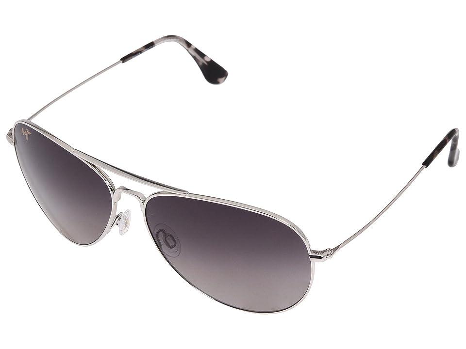 Maui Jim Mavericks (Silver) Sport Sunglasses