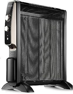 Heater Calentador eléctrico Silicio Cristal Película eléctrica Radiador eléctrico Oficina en el hogar Silencio Automático Temperatura, sin Aceite Calentadores a Prueba de explosiones