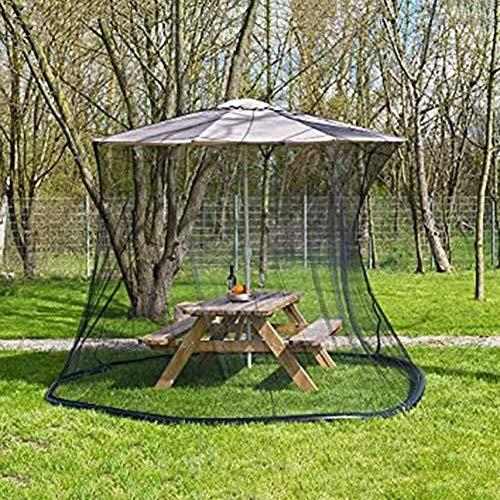 NBVCX Decoración de Muebles Paraguas de Patio Mosquitera Parasol Convertidor Cubierta Gire su Parasol Gazebo Sombrilla de jardín Parasol de Pantalla Parasol