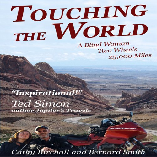 Touching The World audiobook cover art