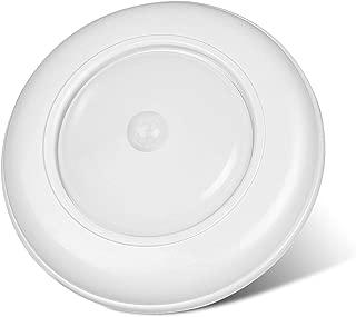 Wireless Battery Operated Motion Sensor LED Ceiling Light,Induction Night Lights Closet Light Cabinet Light,6.7inch,for Living Room, Bedroom,Kitchen,Shower Hallway