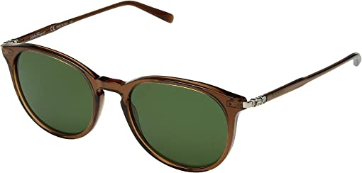Brown/Solid Green