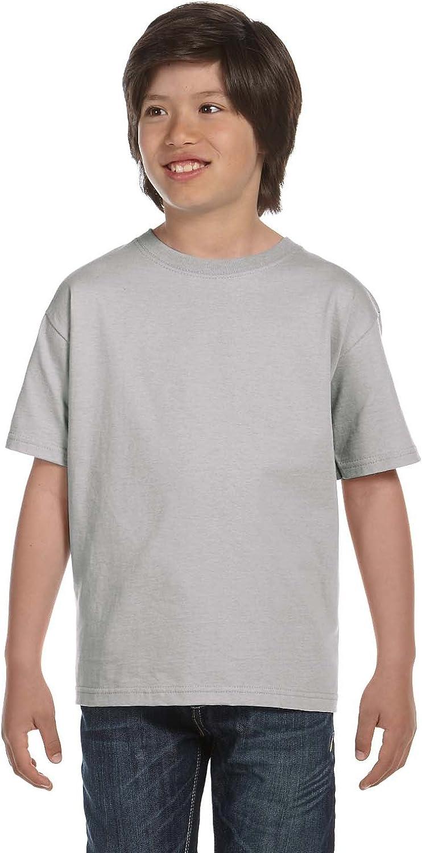 Hanes 5.2 oz ComfortSoft Heavyweight T-Shirt (5480) Light Steel, S