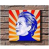 xiongda Hillary Clinton Musik Rapper Album Cover Poster